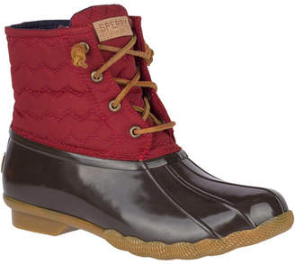 Sperry Women Saltwater Chevron Quilted Duck Booties Women Shoes