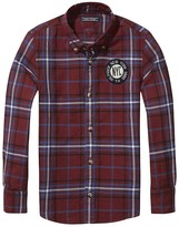 Tommy Hilfiger Th Kids Crested Check Shirt