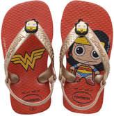 Havaianas Wonder Woman Baby Twin flip-flops