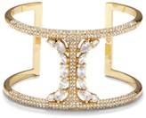Vince Camuto Goldtone Pave T-bar Cuff