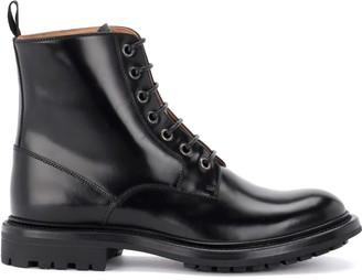 Church's Churchs Nanalah Ankle Boot Made Of Fine Black Calfskin