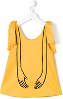 Wolf & Rita - Ines blouse - kids - Cotton/Spandex/Elastane - 4 yrs