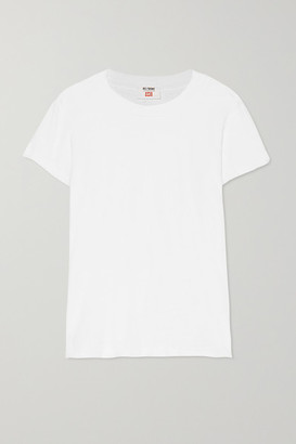 RE/DONE + Hanes 1960s Cotton-jersey T-shirt - White