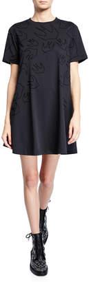 McQ Babydoll Short-Sleeve T-Shirt Dress
