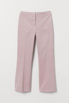 H&M Calf-length Corduroy Pants
