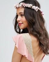 Asos Occasion Floral Tie Headband