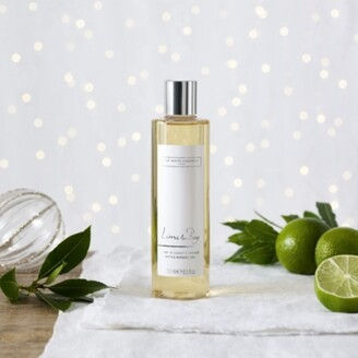 The White Company Lime & Bay Shower Gel, No Colour, One Size