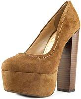 Jessica Simpson Capello Women US 8.5 Brown Platform Heel