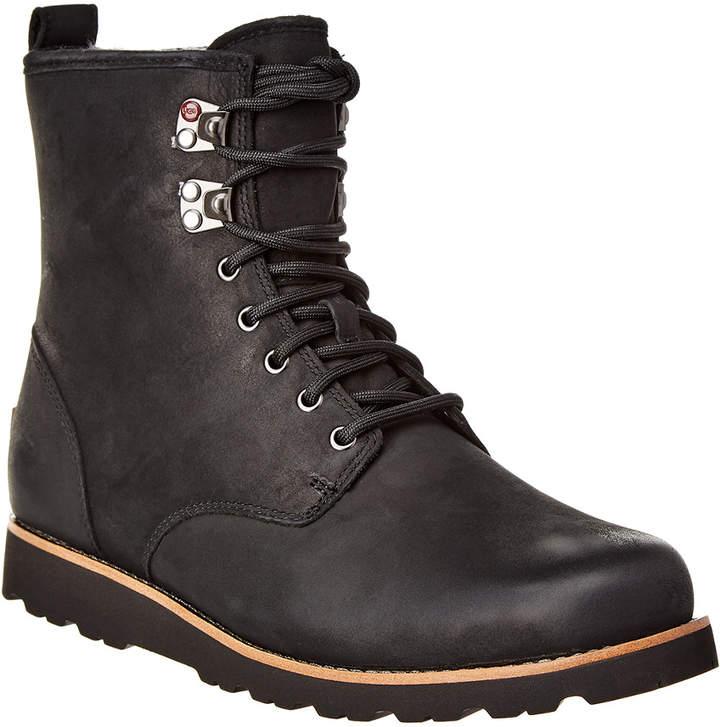 64b77f25927 Hannen Suede & Wool-Lined Waterproof Boot