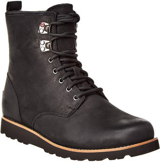 UGG Hannen Suede & Wool-Lined Waterproof Boot