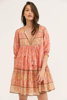 Free People Spell And The Gypsy Collective Seashell Boho Mini Dress by Spell and the Gypsy Collective at