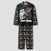 Lego Boys' Star Wars Pajama Set Coat Set - Black