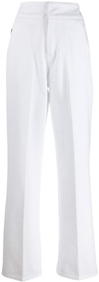 MSGM High-Rise Wide Trousers