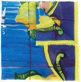 fe-fe abstract print scarf - unisex - Cotton - One Size