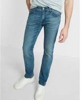 Express slim light wash stretch+ eco-friendly jeans