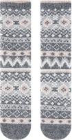Accessorize Fairisle Pattern Thermal Socks