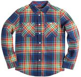 Chaps Boys 8-20 Flannel Plaid Button-Down Shirt