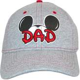 Disney Men's Cotton Mickey Mouse Dad Fan Baseball Cap