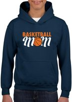 Xekia Basketball Mom Unisex Hoodie For Girls and Boys Youth Kids Sweatshirt Clothing