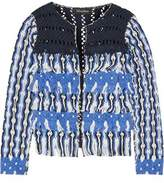 Tabula Rasa Anat Fringed Macramé Cotton Jacket