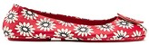 Tory Burch Minnie Travel Ballet Flats, Printed Leather