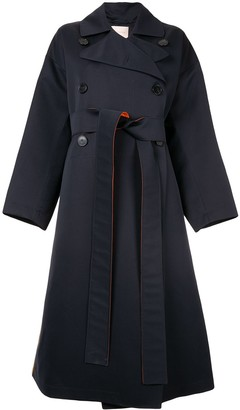 Roksanda Colour Block Trench Coat