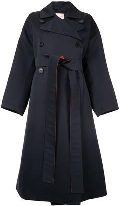 Roksanda colour block trench coat