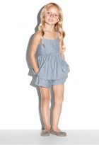 Milly Minis Chambray Strappy Tank