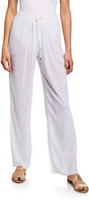 Shan Mia Drawstring Coverup Pants