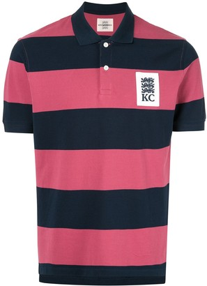 Kent & Curwen Miller striped polo shirt