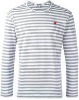 Comme des Garcons striped T-shirt - men - Cotton - L