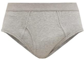 Comme des Garçons Shirt Cotton-jersey Briefs - Grey