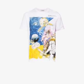 Neil Barrett Valentino Space Man print T-shirt