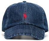 Polo Ralph Lauren Logo-Embroidered Denim Cap