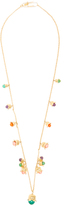 Aurelie Bidermann Lily of the Valley gold-plated necklace