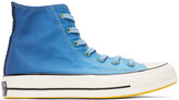 Thumbnail for your product : Converse Blue Gradient Chuck 70 Hi Sneakers