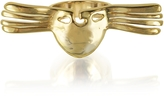 Aurelie Bidermann Melina Winged Mask Ring