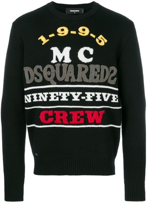 DSQUARED2 Ninety-Five Crew jumper