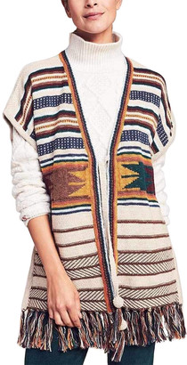 Faherty Savannah Sweater Poncho