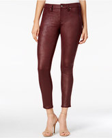 7 For All Mankind Leather Like Skinny Jeans