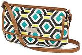 JCPenney 9 & Co.® True Colors Print Crossbody Bag