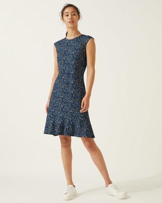 Jigsaw Flower Market Jersey Shift Dress