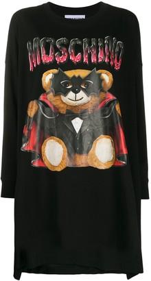 Moschino Bat Teddy Bear knitted dress
