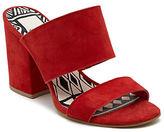 Dolce Vita Elize Leather Block Heel Sandals