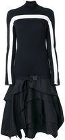 Marcelo Burlon County of Milan asymmetric dress - women - Polyamide/Polyester - XS