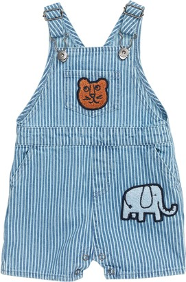 Seed Heritage Stripe Denim Shortalls
