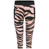 Kenzo KidsGirls Pink Tiger Stripe Cotton Trousers