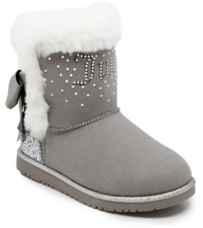 Juicy Couture Little Girls Cozy Boots