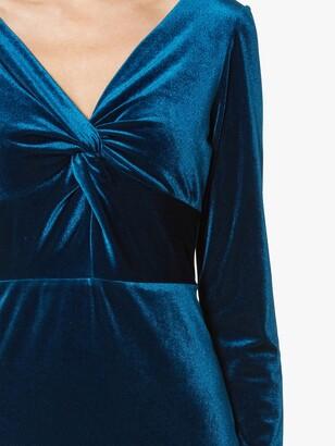 Gina Bacconi Spencer Knot Mini Dress