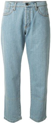 Marni Cropped Straight-Fit Jeans